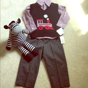 Other - 3 piece set : shirt , vest and pants!